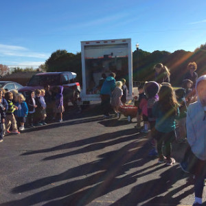 Primary at Food Bank Truck